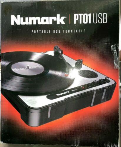 Numark PT01-USB Portable USB Turntable DJ Turn Tables