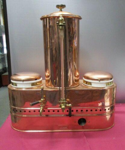 "Antique CECILWARE Copper Hotel Coffee Urn 27"" Tall"