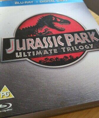 BLU RAY - Jurassic Park Ultimate Trilogy