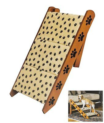 JSNY Convertible Pet Steps/ramp Dog Cat Portable Folding ...