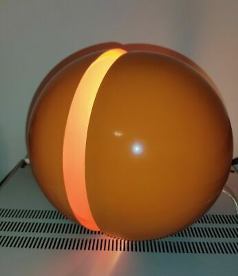 LUMESS ANDREA MODICA BALL SPHERE SPACE AGE ORANGE LIGHTS TABLE LAMP online kaufen