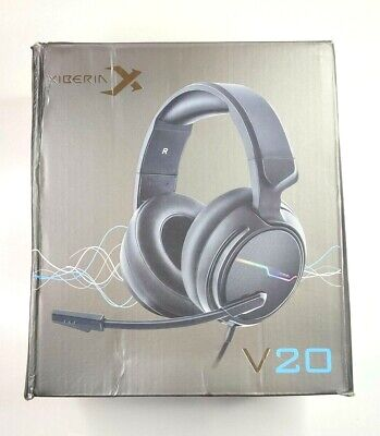 Xiberia V20 Pc Gamer Headset Usb 7.1 Surround Sound Gaming Headphone