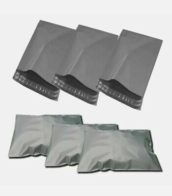 100 Grey Mailing Parcel Bags Mailers Poly postal Size 13