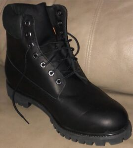 Brand New Timberland Premium 6in Boots Black - Size 12 - $145