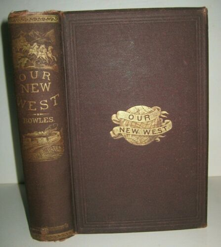 RARE_OLD WESTERN TOURIST GUIDE_MORMONS_INDIANS_CALIFORNIA GOLD_YOSEMITE_CHINESE_