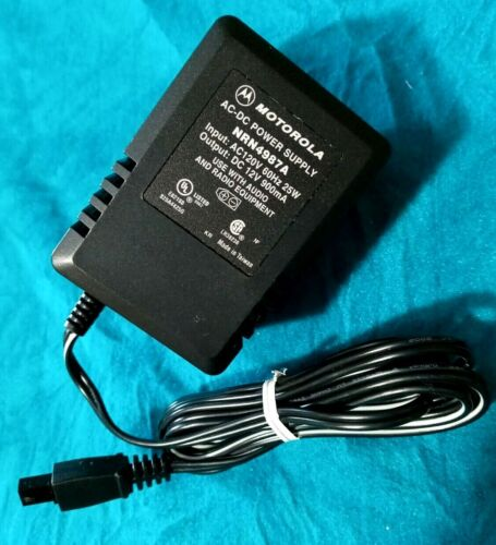 Motorola POWER SUPPLY - NRN4987A for Minitor II III IV amplified charger base