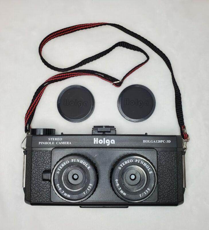 Holga120Pc-3D Holga Stereo Pinhole Camera | Untested