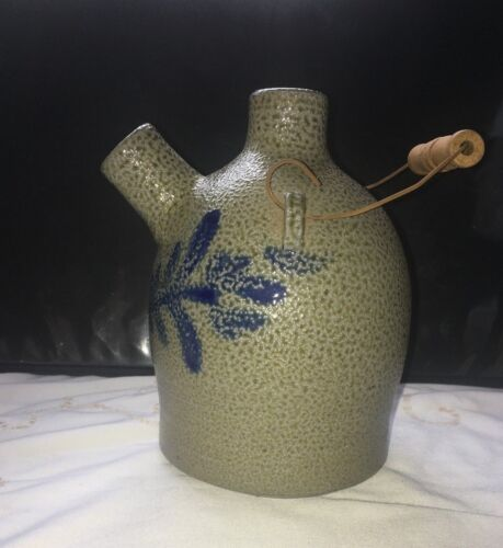 RARE HISTORIC COLLECTION 1999  ROWE POTTERY   SALT GLAZED  JUG