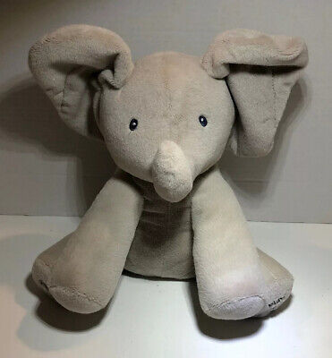 GUND Baby Animated FLAPPY The Elephant Plush Toy 4053934 Sings-Ears Flap Stiffed