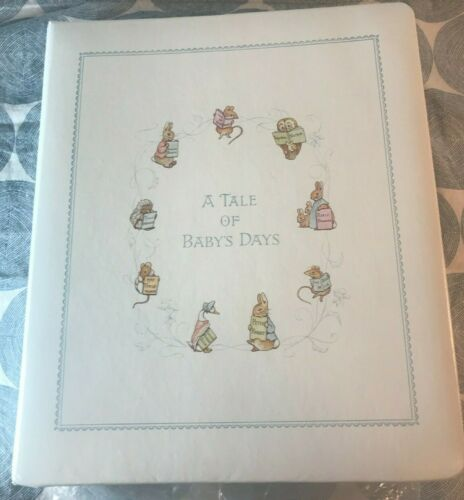 "Vintage 1976 Beatrix Potter Peter Rabbit Baby Book ""A Tale of Baby"