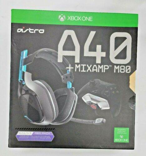 Astro A40 Headset + Mixamp M80 Halo 5 - XBox One - New, Sealed