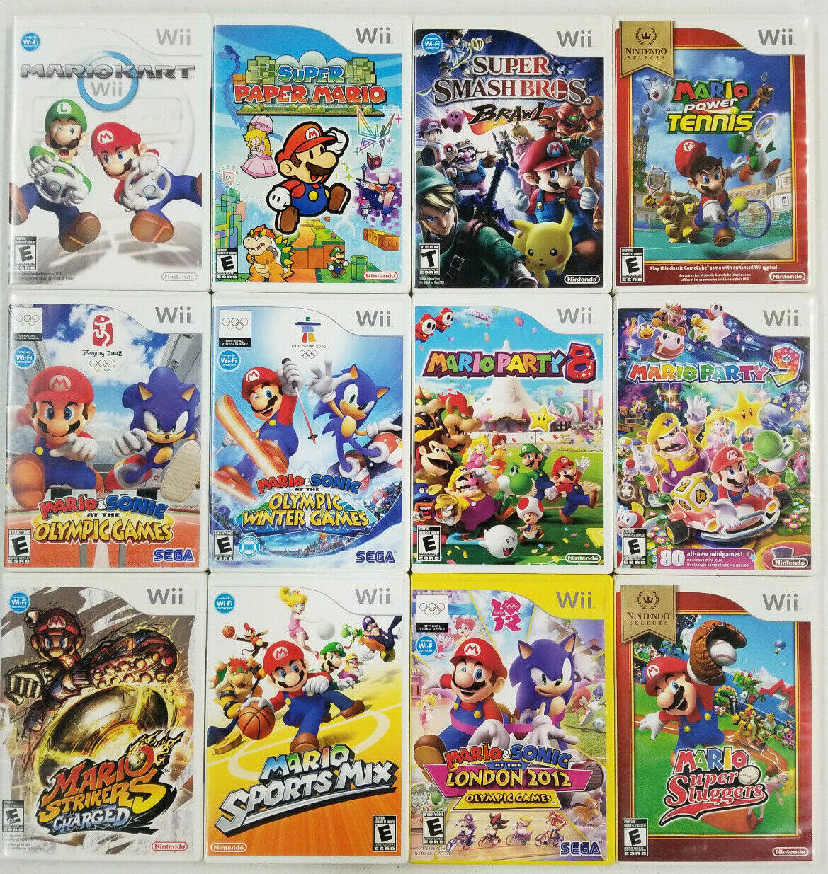 Купить Super Mario Games Wii - TESTED