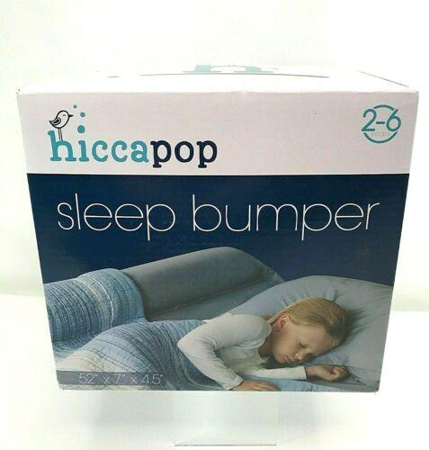 "hiccapop Sleep Bumper 2-6 yrs Size 52"" x 7"" x 4.5"" Quality Foam Waterproof Cover"