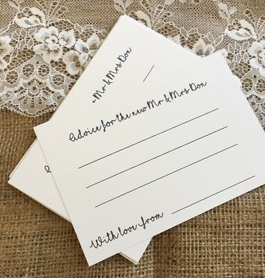 Wedding Advice Cards For The Happy Couple Guest book table