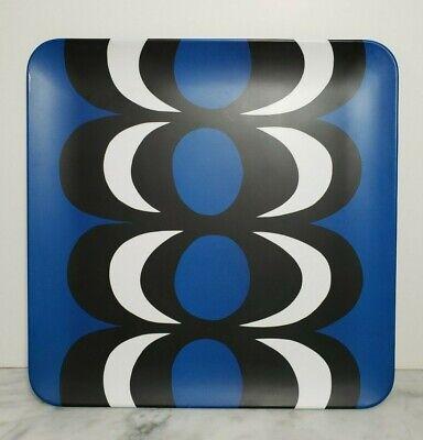 Marimekko For Target Square Tray Melamine Blue White Black ()
