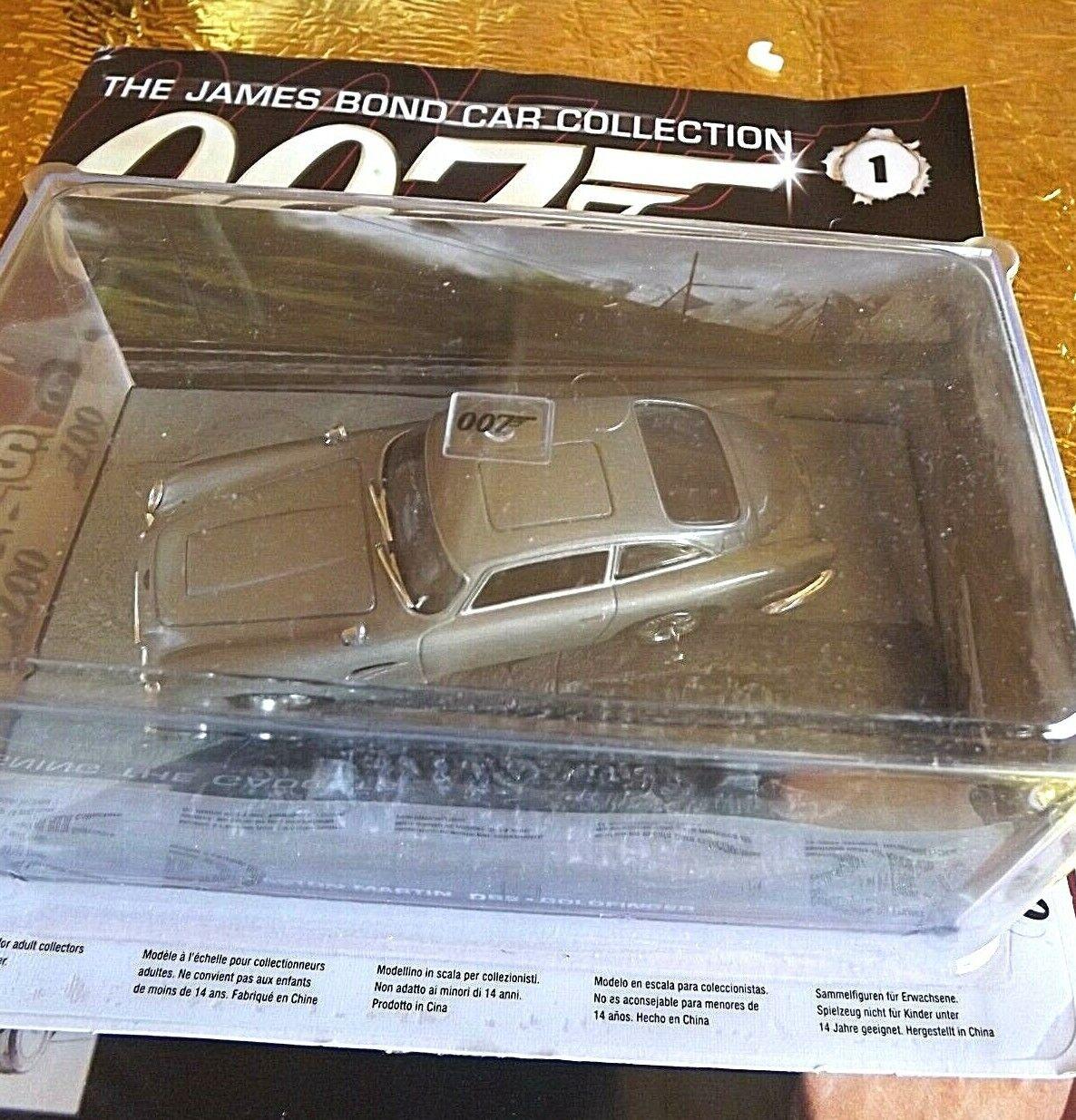 Image of 007 James Bond Car Collection 1 Aston Martin DB5 Model