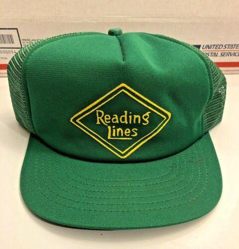 Vintage Reading Lines Railroad Vintage Hat Cap
