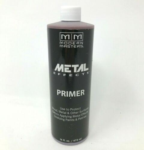 Modern Masters AM203-16 Acid Blocking Primer RED 16 oz. Metal/Wood Protectant