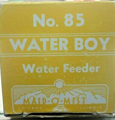 Maid-o-mist No. 85 Water-boy Automatic Water Safety Feeder