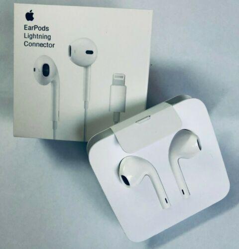 ORIGINAL Apple iPhone 7 8 X Plus EarPods Earbuds Headphones Lightning Connector