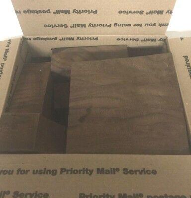 Claro Walnut Medium Flat Rate Box Full large and Small Cut Offs Kiln Dried  for sale  Rohnert Park