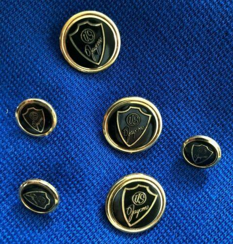 US Jaycees Logo Mens Womans Vest Buttons Vintage Lot 6