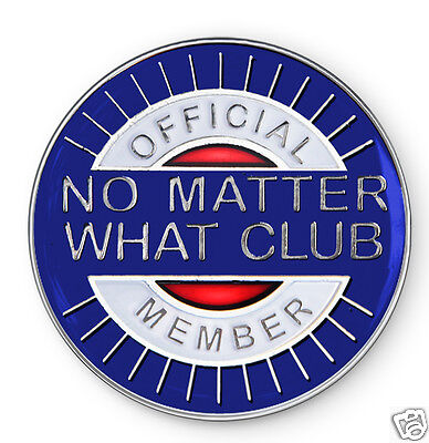 """No Matter What Club"" AA/NA/12 Step Recovery Program Enamel Coin/Medallion"