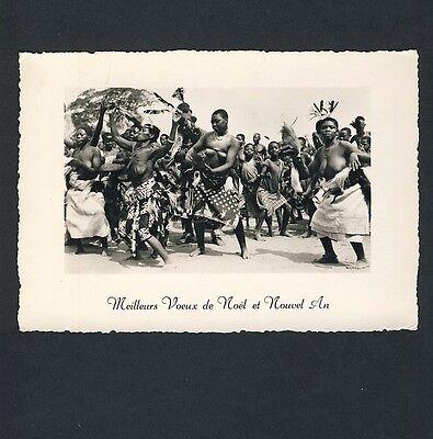 CONGO DANCING WOMEN TANZENDE FRAUEN VINTAGE 30S ETHNIC NUDE PHOTO PC