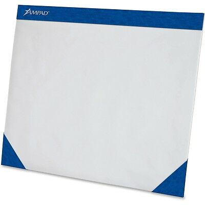 Tops Products Desk Pad Top Binding Perf. 50 Sht 22x17 White Paper 24714