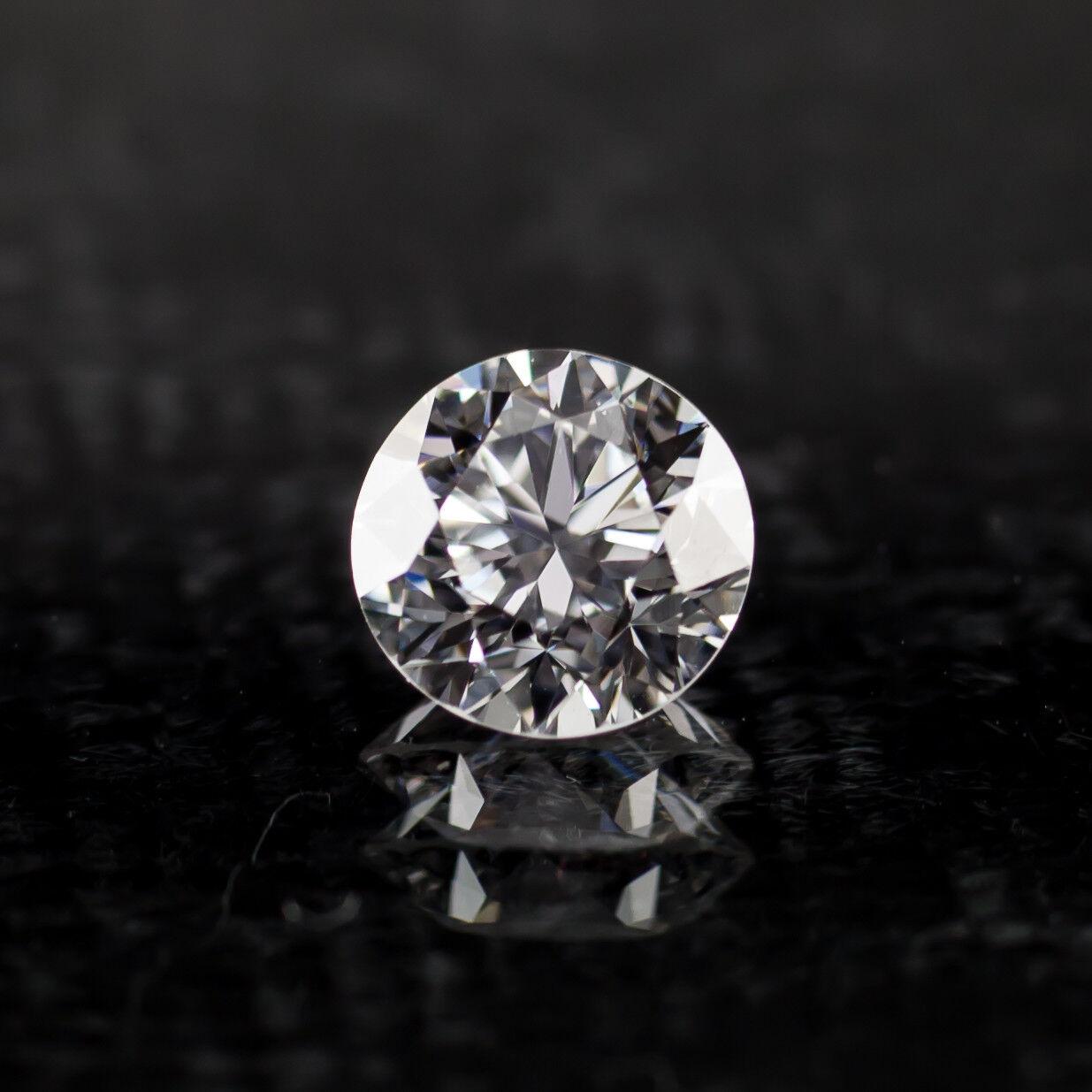 0.75 Carat Loose D / VS2 Round Brilliant Cut Diamond GIA Certified