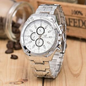 Men's Stainless Steel Analog wrist watch. Serious buyer only.