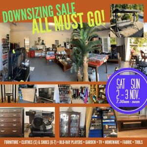 Springfield Lakes Garage Sale • 7.30am • 2-3 Nov. Sat/Sun