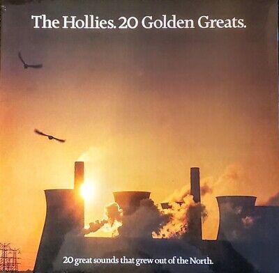 "THE HOLLIES - 20 GOLDEN GREATS - VINYL LP "" NEW, SEALED "" IMPORT"
