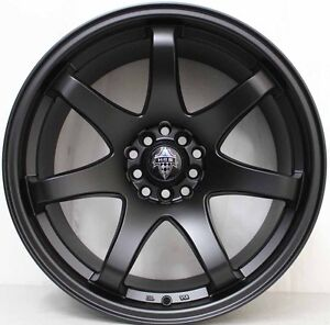18 inch HR Racing  556 Lightweight Wheels  TO SUIT NISSAN GTR & 370Z & 350Z