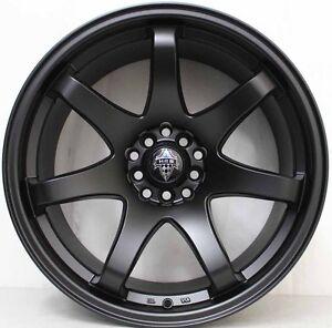 18 inch HR Racing  556 Lightweight Wheels  TO SUIT NISSAN GTR & 370Z & 350Z