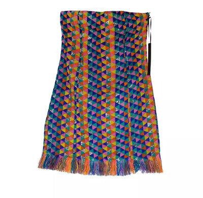 House Of Harlow 1960 X REVOLVE Mini Dress S Acrylic Multi Brand New RRP£170
