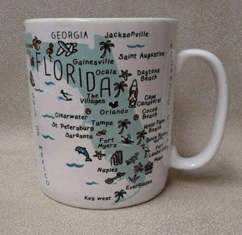 28 Oz Florida State Map  222 Fifth My Place Mug