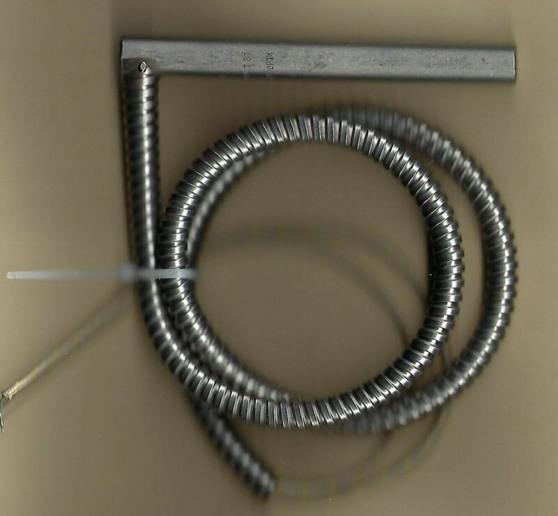 """Beringer Cartridge Heater 1/2"""" Dia X 5.25"""" Long 750w 575v 22"""" Ss Conduit"""