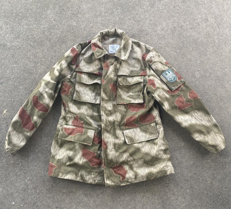 West German BGS Border Guard Camo Jacket (VB2613
