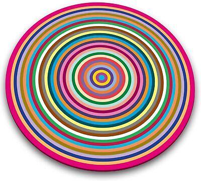 Joseph Joseph Chopping Board Worktop Saver Coloured Rings 30 cm Toughen Glass