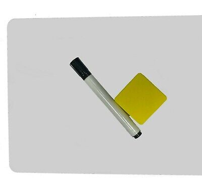 Dry Erase Lap Whiteboard 9 X 12 Inch With Marker And Eraser