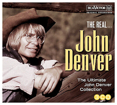 JOHN DENVER * 53 Greatest Hits * NEW 3-CD Box Set * All Original Songs * NEW