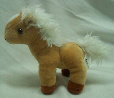 "Breyer NICE SOFT TAN and WHITE HORSE 7"" Plush STUFFED ANIMAL Toy 2019"