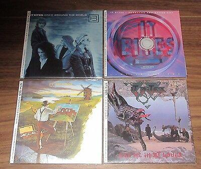 IT BITES Japan PROMO mini LP CD x 4  set CARD SLEEVE obi NR MINT Francis Dunnery
