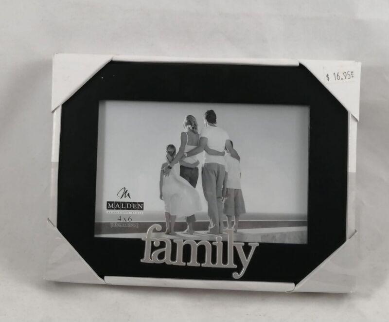 Malden International Designs Family Desktop Picture Frame 4 x 6