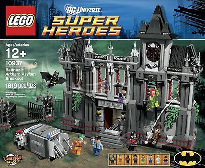 NEW LEGO BATMAN ARKHAM ASYLUM BREAKOUT SET 10937 - DC SUPER HEROES - 1619 PIECES