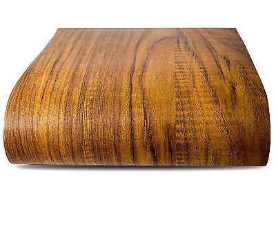 Gold Wood Vinyl Floor Self Adhesive Flooring Sticker 12 PCS