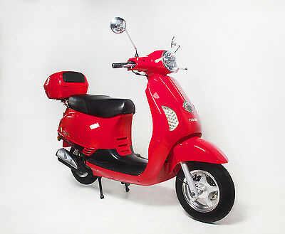 BRAND NEW 2016 TORINO FAMOSA 125cc LEARNER LEGAL SCOOTER RED –$2,690