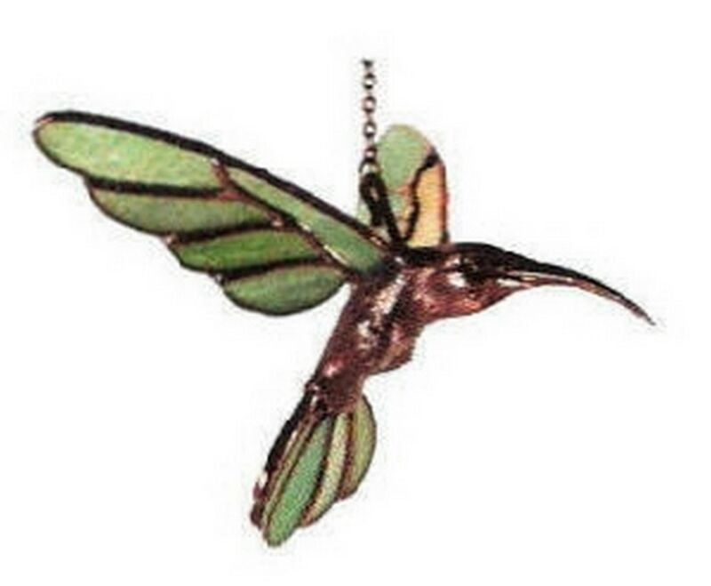 Stained Glass Supplies - HUMMINGBIRD BODY KIT - FREE SHIPPING (9069)