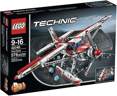 New Lego Technic Fire Plane 42040
